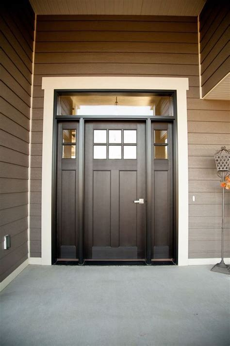 Exterior Side Entry Doors Best 25 Entry Door With Sidelights Ideas On