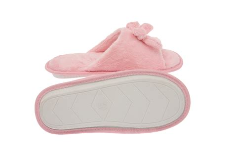 memory foam house slippers womens memory foam house slippers open toe fleece