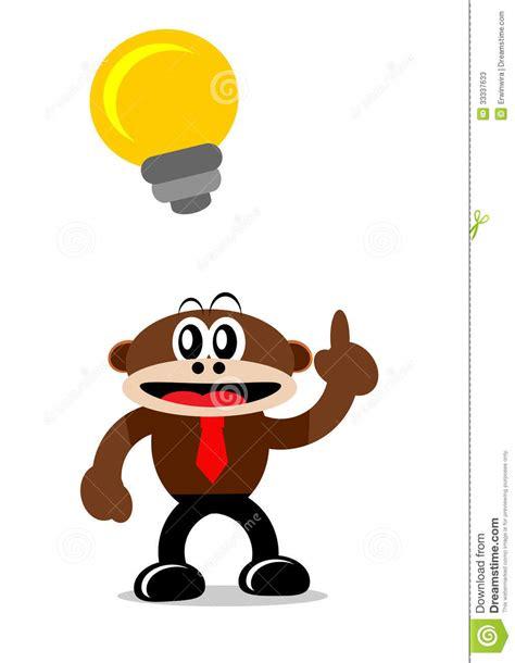 free themes cartoon character cartoon monkey in business themes stock photos image