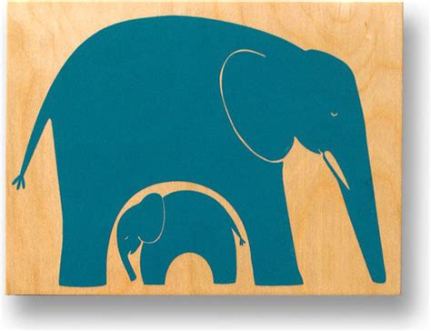 big and baby elephant nursery on wood by sk 229 rt shop