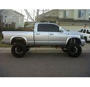 Silver Lifted Dodge Ram Truck  Jeeps/SUVs/Trucks