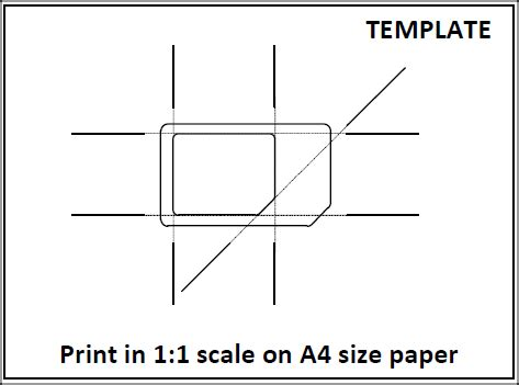 Micro Sim Template Print by Tips From Anoop How To Make Micro Sim From Usual Sim Card