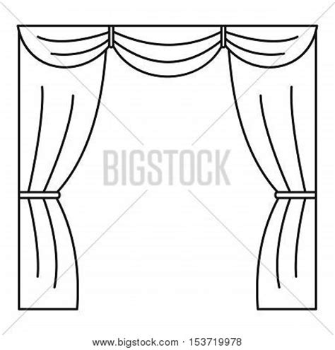 curtain outline stages images stock photos illustrations bigstock
