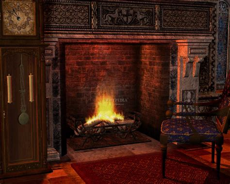 Fireplace 3d Screensaver by Fireplace Animated Screensaver