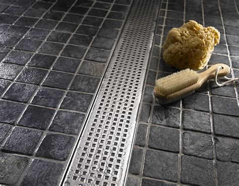 Shower Trench Drain by The Three Components Of A Trench Drain Luxe Linear