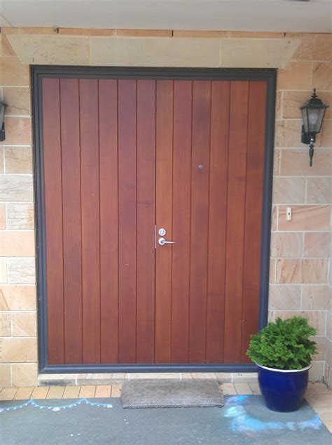 Cedar Front Door by Gallery Hoults Doors Wellington Nz