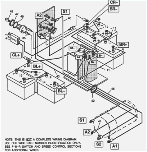 ezgo wire diagram wiring diagram manual