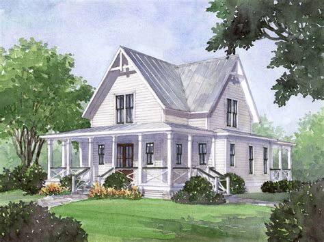 house plans farmhouse house plan of the month four gables american gothic