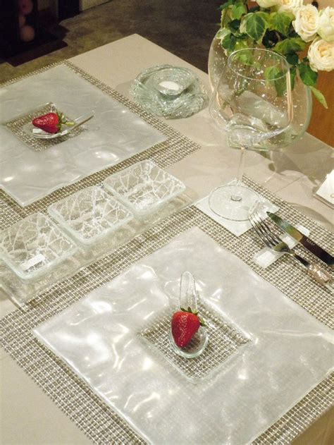 fine dining table setting pin by myglassstudio on fine dining table setting pinterest