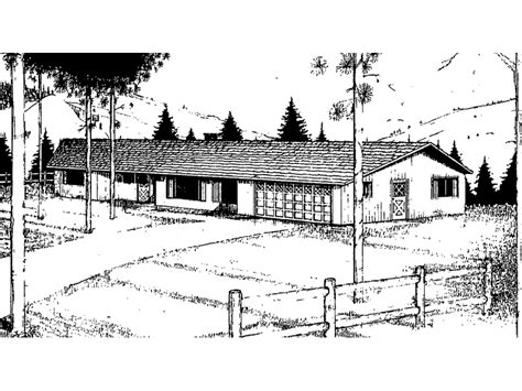 Low Pitch Roof House Plans by Ridgemoor Rustic Ranch Home Plan 085d 0036 House Plans