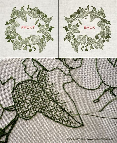 black embroidery pattern blackwork embroidery a step by step guide ajisai press
