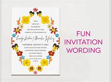 15 Wedding Invitation Wording Samples: From Traditional to Fun Wording