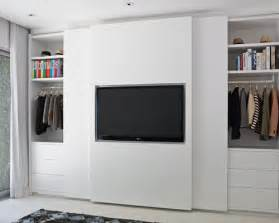 Flat Screen Tv In A Closet wardrobe with tv houzz