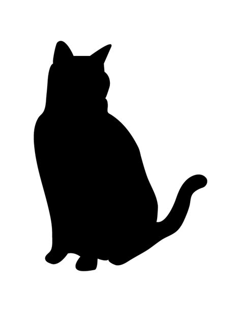 tattoo black cat silhouette cat silhouette pictures cliparts co