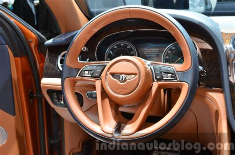 bentley bentayga steering wheel   iaa