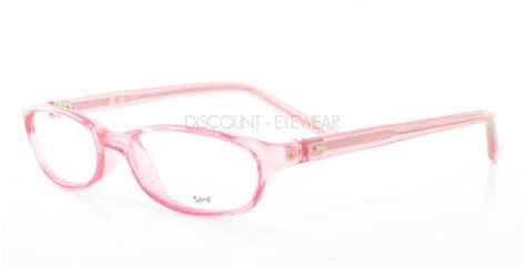 soho 59 eyeglasses clear pink eyeglass frames ebay
