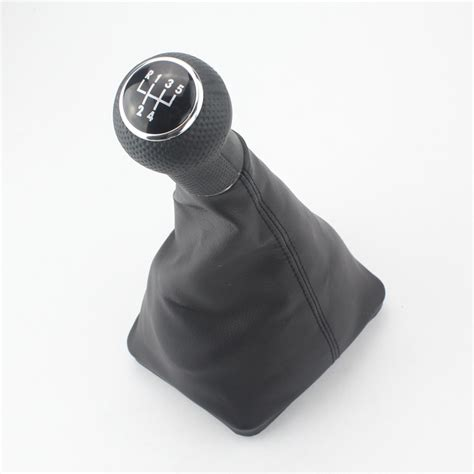 4 Speed Gear Shift Knobs by Car 5 Speed Gear 23mm Gear Shift Knob Black Caps Car For Vw Golf 4 With Black Frame Gear