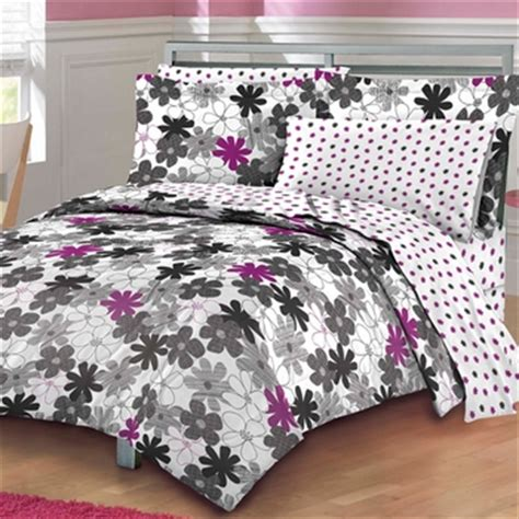 graphic comforters graphic daisy mini bed in a bag sets