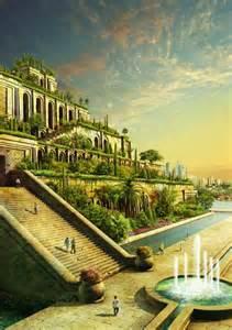 jardins suspendus de babylone seconde merveille du monde