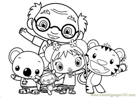 kai lan 35 coloring page free ni hao kai lan coloring