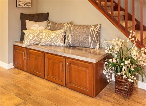 foyer bench seat 27 best images about furniture built ins on pinterest fireplace bookshelves