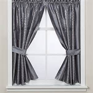 Window Curtains For Bathroom Infinity Bath Window Curtain Panels Bed Bath Beyond