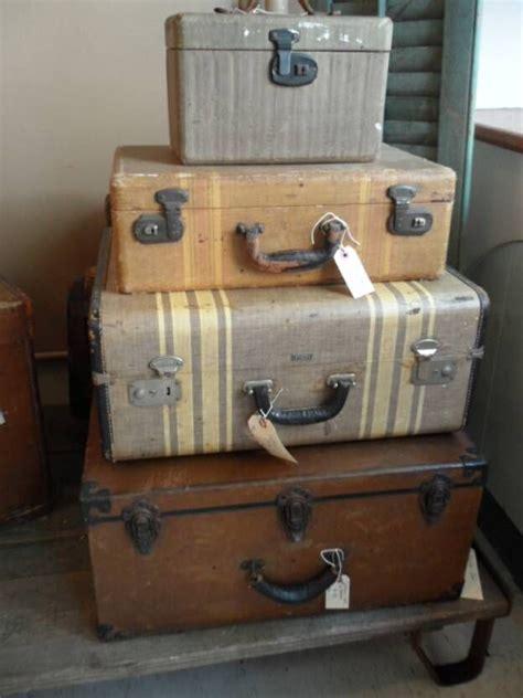 ideas   luggage  pinterest vintage