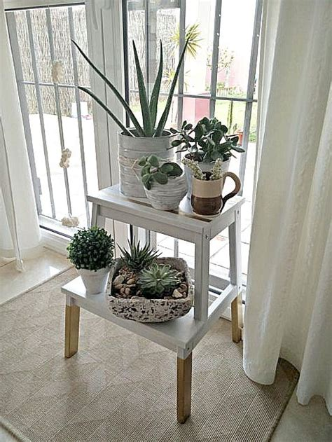 ikea plant stand hack 5 ways to use the ikea bekvam step stool ikea bekvam