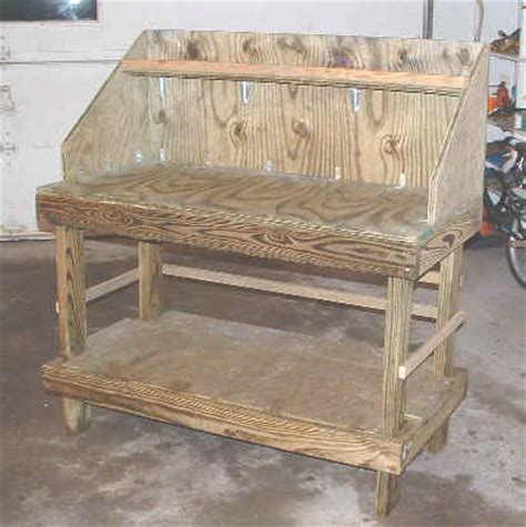 free potting bench plans free bench building plans house design