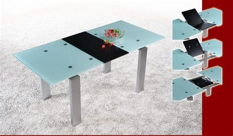 Glass Kitchen Laredo Tx by Frosted Glass Extendable Dining Table Laredo