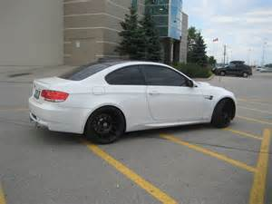white bmw m3 black rims