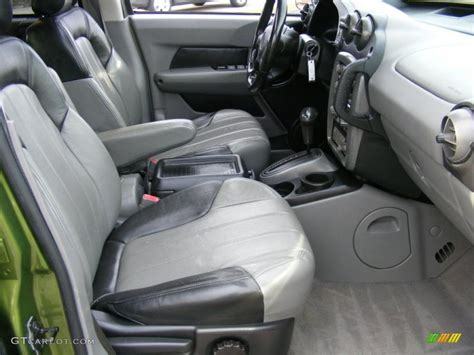 gray interior 2001 pontiac aztek gt awd photo