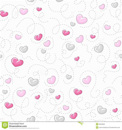 cute background pattern love cute hearts pattern royalty free stock photo image 35958565