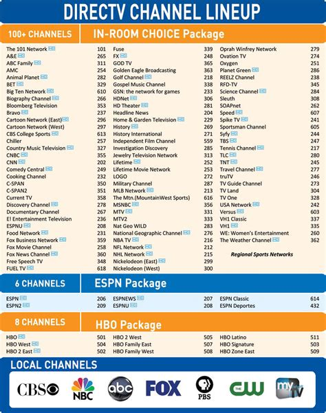 Direct Tv Guide Printable