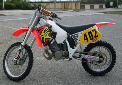 250 2 stroke motocross bikes for sale buy 1993 honda cr250r 2 stroke dirt ready good running