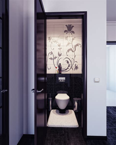 Black And White Bathroom Tile Design Ideas modern tiles bathroom design decosee com