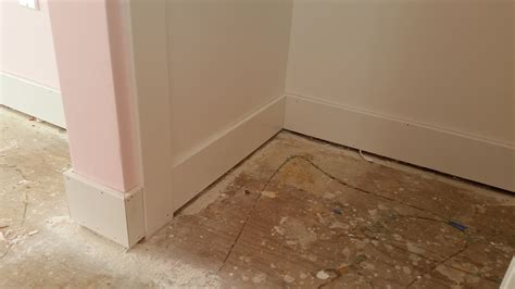Install Baseboards Or Carpet First House Remodeling