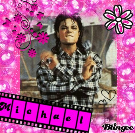 Mj Pink michael jackson pink black picture 120422191 blingee