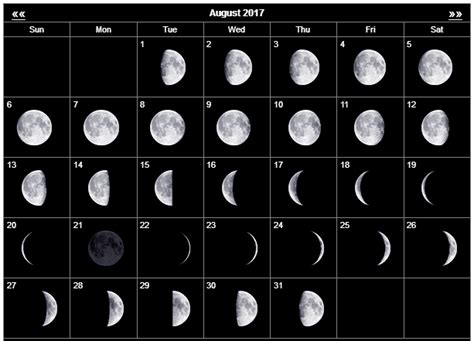 lunar calendar 2017 full moon august 2017 calendar moon phases 2017