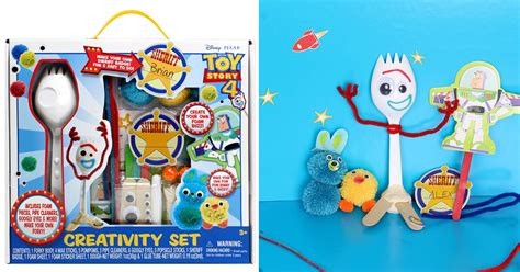 limited time offer disney toy story  forky creativity