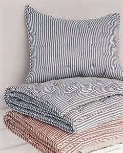 blue ticking comforter 25 best ideas about ticking stripe on pinterest striped