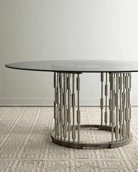 Round Dining Room Table With Leaf 20 High End Dining Tables For Stylish Homes