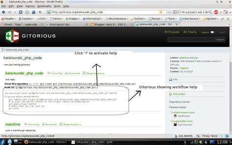 git tutorial for beginners linux getting started with git and gitorious arun s blog