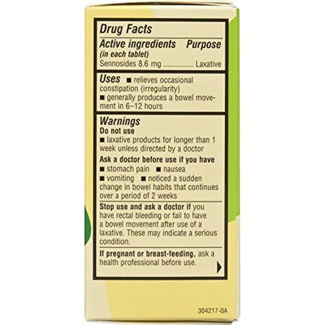 senokot natural vegetable laxative ingredient tablets senokot natural vegetable laxative ingredient tablets