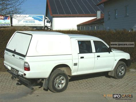mitsubishi pickup 2005 2005 mitsubishi l200 pick up 4x4 truck approval car