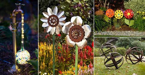 diy garden ornaments projects  beautify  garden