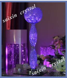 china new wedding event decor centerpiece with led