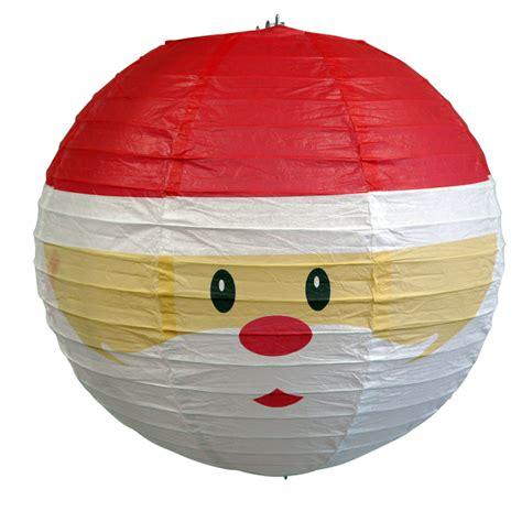 santa claus paper lantern