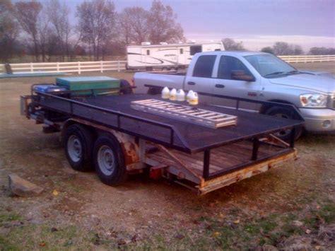 my trailer my trailer raxk to carry 4 5 atv s atvconnection atv