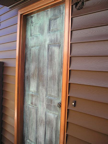 amazing Door Colors For Brown House #3: bb1939fd8231fe23c1c9046135daf6e9--copper-paint-distilled-water.jpg